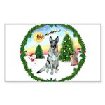 Take Off1/ German Shepherd Sticker (Rectangle)