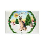 Take Off1/ German Shepherd Rectangle Magnet (10 pa