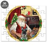 Santa's German Shepherd Puzzle