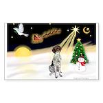 Night Flight/GSHP Sticker (Rectangle 50 pk)