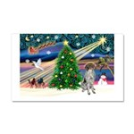 Xmas Magic/German SHP Car Magnet 20 x 12
