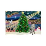 Xmas Magic/German SHP Rectangle Magnet