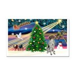 Xmas Magic/German SHP Rectangle Car Magnet