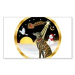 Night Flight/Greyhound (brin) Sticker (Rectangle 1
