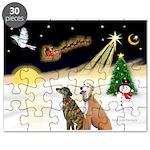 NIGHT FLIGHT<br>& 2 Greyhound Puzzle
