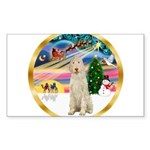 XmasMagic/Spinone #11 Sticker (Rectangle 50 pk)