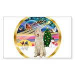 XmasMagic/Spinone #11 Sticker (Rectangle 10 pk)