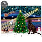 Xmas Magic & Choc Lab Puzzle