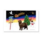 XmasSigns/Newfie Car Magnet 20 x 12