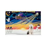 XmasSunrise/OES #3 Rectangle Magnet (10 pack)