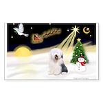 Night Flight/OES #2 Sticker (Rectangle 50 pk)