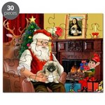 Santa's Pekingese Puzzle