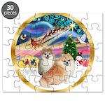 XmasMagic/2 Pomeranians Puzzle