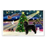 XmasMagic/PWD Sticker (Rectangle 50 pk)