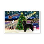 XmasMagic/PWD Rectangle Car Magnet