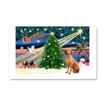 XmasMagic/Rhodesian RB Car Magnet 20 x 12