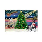 XmasMagic/Shih Tzu Rectangle Magnet (10 pack)