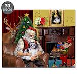 Santa's Shih Tzu (#1) Puzzle