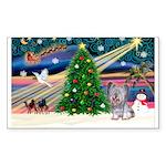 Xmas Magic / Skye Terri Sticker (Rectangle 50 pk)