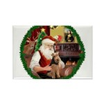 Santa's Welsh T Rectangle Magnet (10 pack)