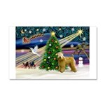 XmasMagic/Wheaten (#2) Car Magnet 20 x 12
