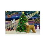 XmasMagic/Wheaten (#2) Rectangle Magnet