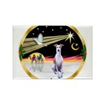 Wisemen/Whippet #8 Rectangle Magnet (10 pack)