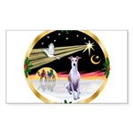 Wisemen/Whippet #8 Sticker (Rectangle)