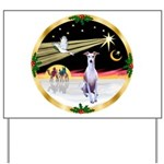 Wisemen/Whippet #8 Yard Sign