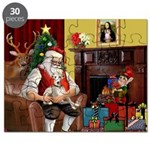 Santa's Whippet Puzzle