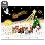 Night Flight/5 Yorkies Puzzle
