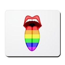 Rainbow Tongue Mousepad