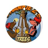 Tree Dogs Ornament (Round)