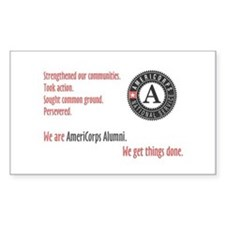 Alumni Rectangle Decal