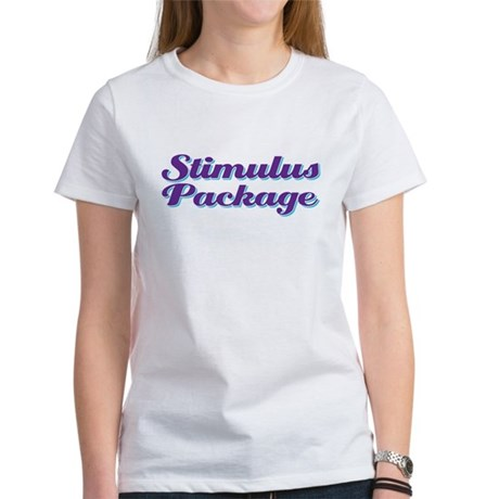 stimulus package Women's T-Shirt