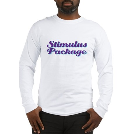 stimulus package Long Sleeve T-Shirt