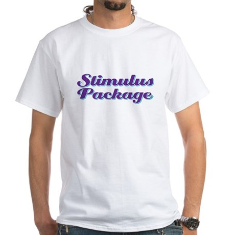 stimulus package White T-Shirt