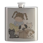 Puppy Dog Friends Flask