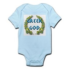 Cute Greek baby shower Infant Bodysuit