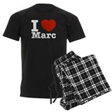 I Love Marc pajamas