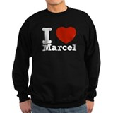 I Love Marcel Sweatshirt