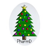 tree pharmD.PNG Ornament (Oval)