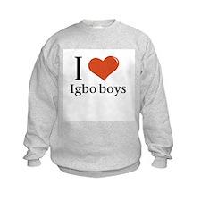I love Igbo boys Sweatshirt