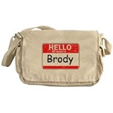 Hello My name is Brody Messenger Bag