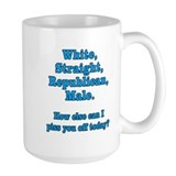White Straight Republican Male Mug