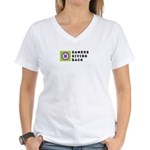 GGB (Personalized) - Women's V-Neck T-Shirt