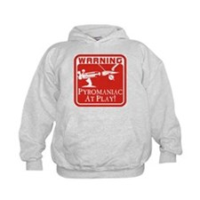 Pyromaniac At Play Hoodie