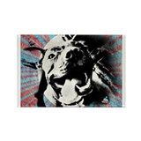 Puppy Love Rectangle Magnet (10 pack)