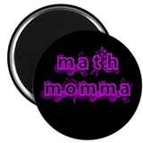 "Math Momma 2.25"" Magnet (10 pack)"