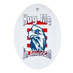 Hug Me Oval Ornament